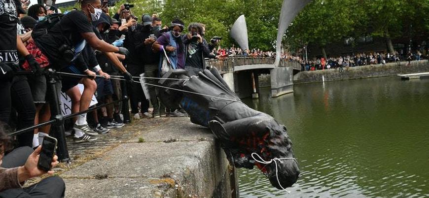 İngiltere'deki gösterilerde heykeli nehre atılan köle tüccarı Edward Colston kimdir?