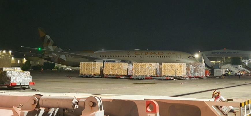 BAE'ye ait Etihad Airways uçağı ikinci kez İsrail'de