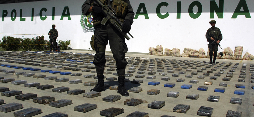 Kolombiya'dan Türkiye'ye gönderilecek 265 milyon dolarlık kokain ele geçirildi