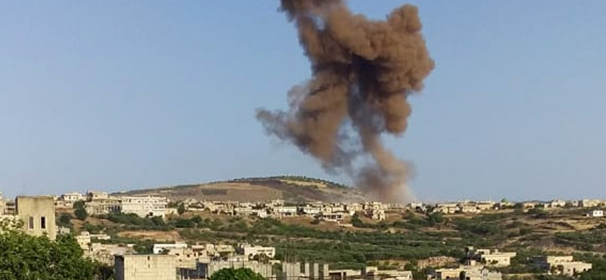 Rusya İdlib'de sivilleri vurdu