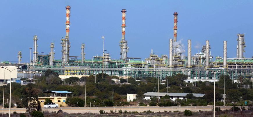 Libya'da silahlı bir grup gaz tesisini basıp İtalya'ya gaz akışını kesti