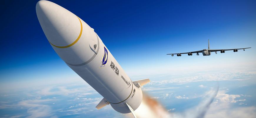 ABD'nin son teknoloji füzesi test uçuşunda infilak etti