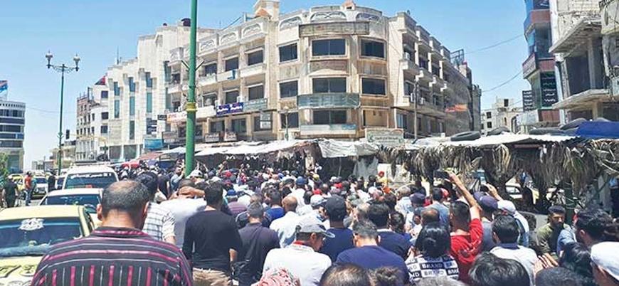 Suriye'nin güneyinde rejim karşıtı protestolar