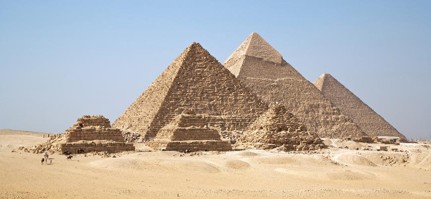 """George Floyd protestoları Mısır'ı karıştırdı: """"Kölelerin inşa ettiği Piramitler yıkılsın"""""""