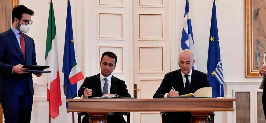 Yunanistan ile İtalya arasında imzalanan deniz anlaşması ne anlama geliyor?