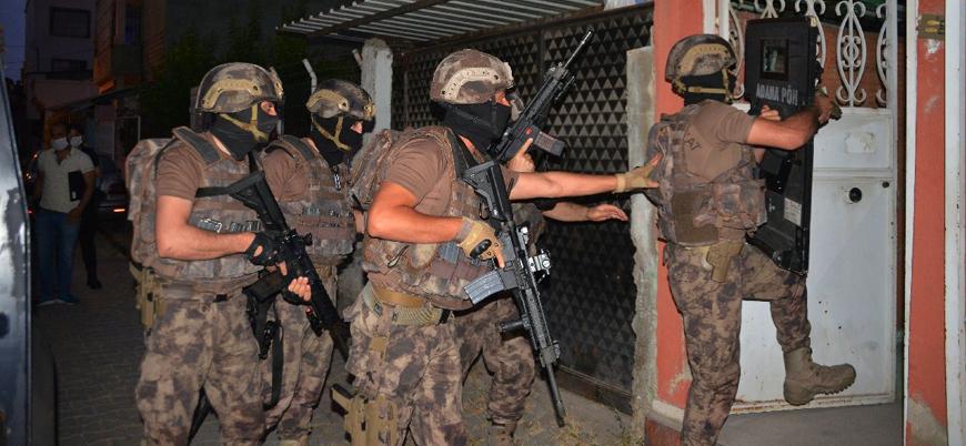 Adana'da 'HTŞ ve Hurras ed Din' operasyonu