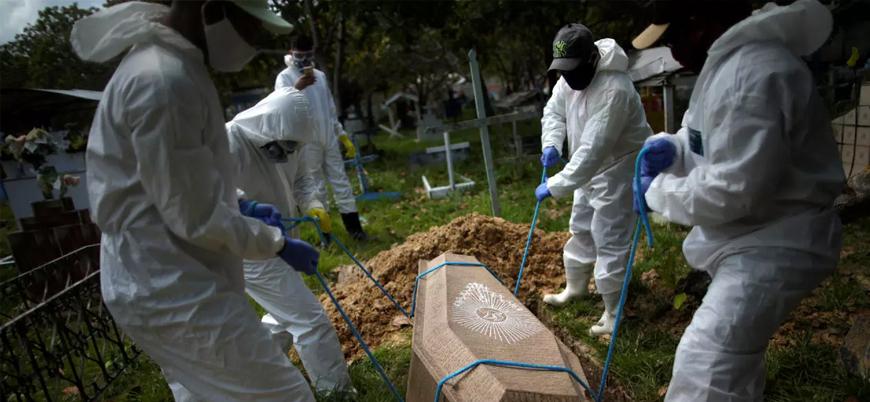 Brezilya'da koronavirüsten ölenlerin sayısı 40 bini aştı