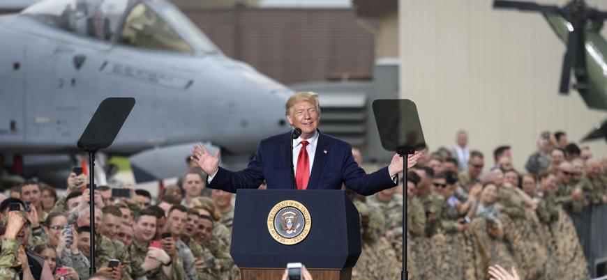 """""""Amerikan ordusu Trump'ı Beyaz Saray'dan zorla çıkarır"""""""