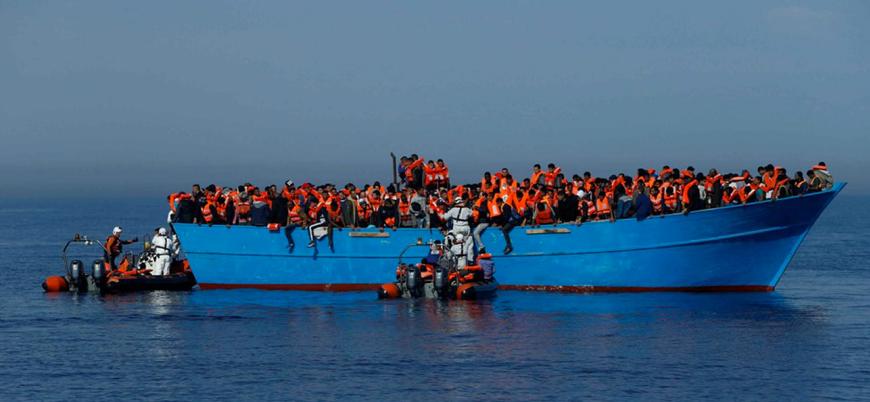Akdeniz'de sığınmacı botu battı: 34 ölü