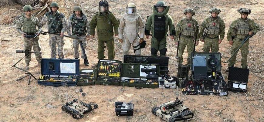 Türk Silahlı Kuvvetleri bomba imha ekibi Libya'da