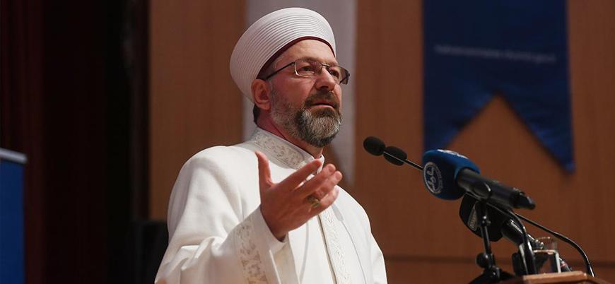 Diyanet İşleri Başkanı Erbaş'tan 'Ayasofya' açıklaması: İnşallah açılır