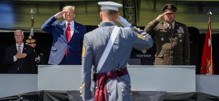 Trump ABD ordusuna seslendi: Dünyanın polisi değiliz