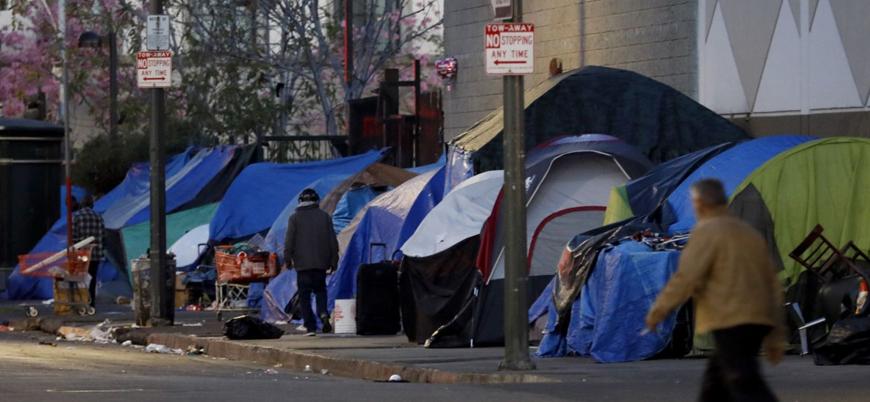 ABD'de evsizlerin sayısındaki artışın önüne geçilemiyor