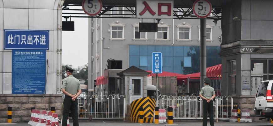 Çin'de koronavirüs yeniden bir pazar yerinde ortaya çıktı
