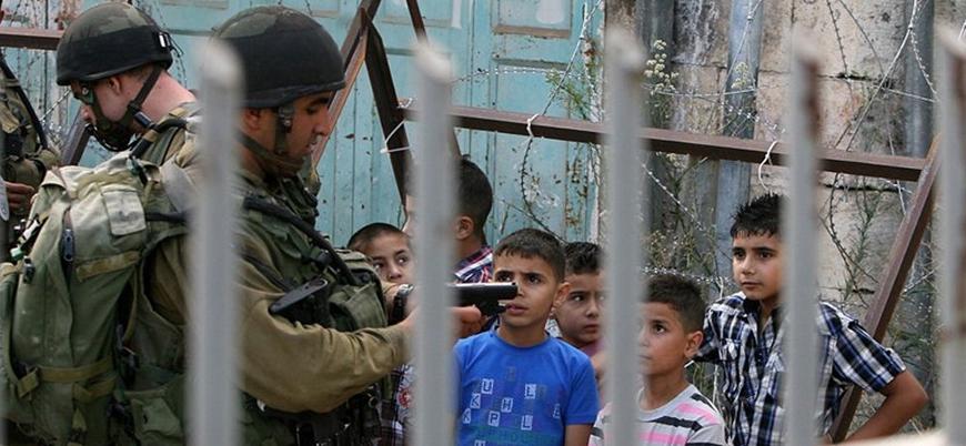 İsrail 15 yaşındaki Filistinli çocuğu 10 yıl hapse mahkum etti