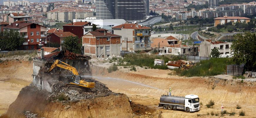 Türkiye'de konut satışları yüzde 45 azaldı