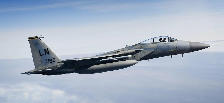 ABD'ye ait F-15 Kuzey Denizi'ne düştü