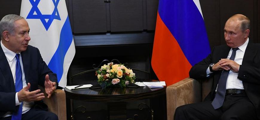 Netanyahu: BM'de Filistin devleti kurulması kararını Putin önledi
