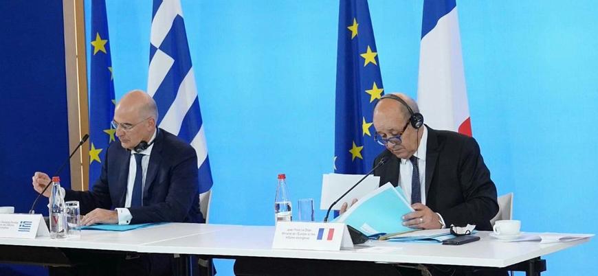 Yunanistan Türkiye'ye karşı AB'den destek arayışında