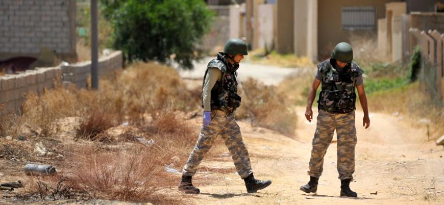 TSK Libya'da Rusya destekli Hafter güçlerinin bombalı tuzaklarını temizliyor