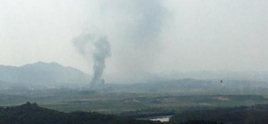Kuzey Kore sınırdaki irtibat bürosunu havaya uçurdu