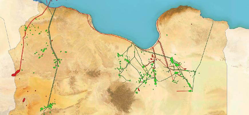 Libya'nın petrol ve doğal gaz kaynakları