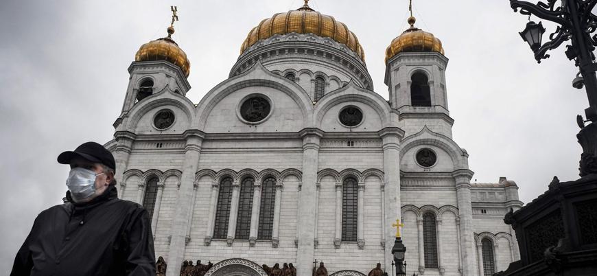 Rusya'da bir günde 8 bin yeni vaka 181 ölüm
