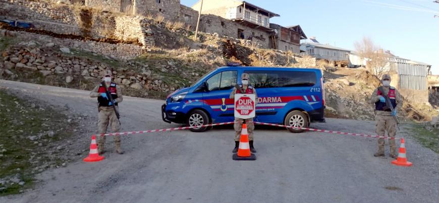 Türkiye'de 76 yerleşim yeri karantinada