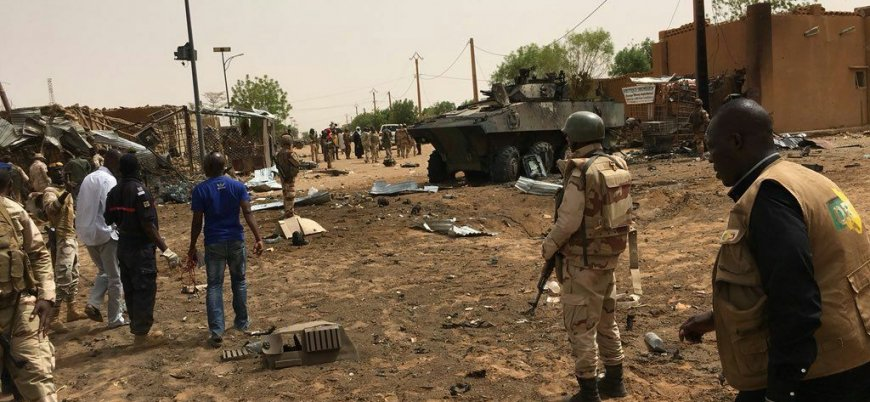 Mali'de Fransız askerlerine yönelik bombalı saldırının görüntüleri ortaya çıktı