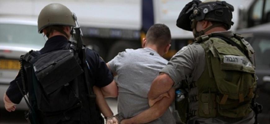 İsrail Batı Şeria ve Kudüs'te 17 Filistinliyi gözaltına aldı