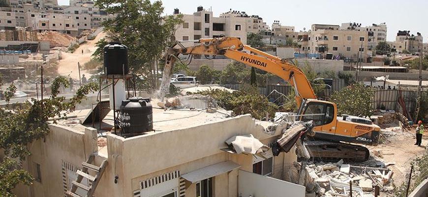 İsrail Kudüs'te yıkıma aralıksız devam ediyor