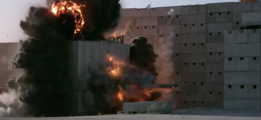 Türkiye'nin geliştirdiği 'sığınak delici bomba' SARB-83 testi geçti