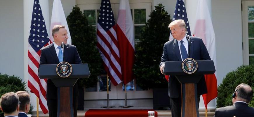 Trump: Almanya'daki askerlerimizi Polonya'ya çekebiliriz