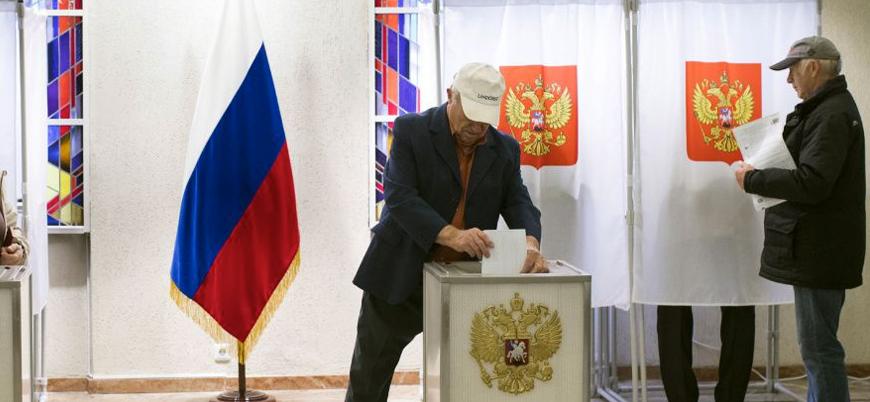 Rusya'da halk anayasa değişikliği için sandık başında
