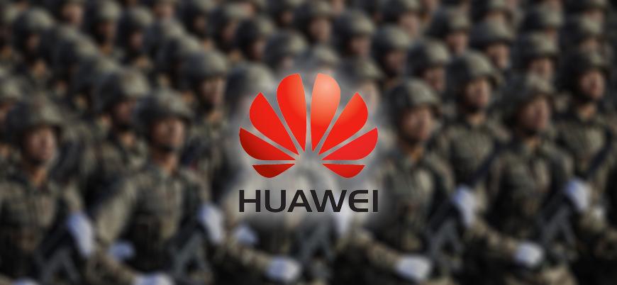 """""""Çin ordusu Huawei'yi destekliyor"""""""