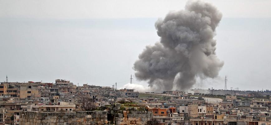 Rusya ve Esed rejimi İdlib'i vurmaya devam ediyor