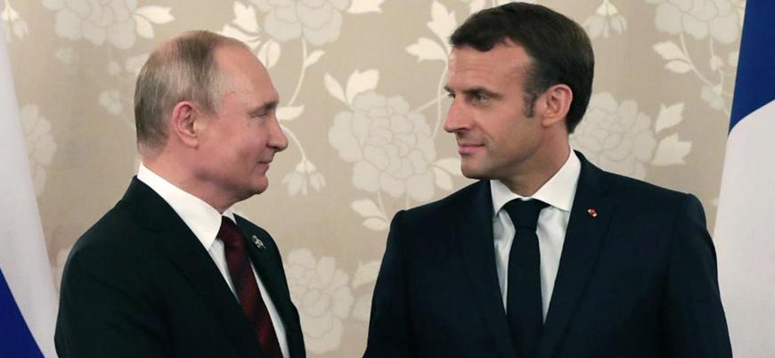 Putin ve Macron telefonda Libya'yı görüştü