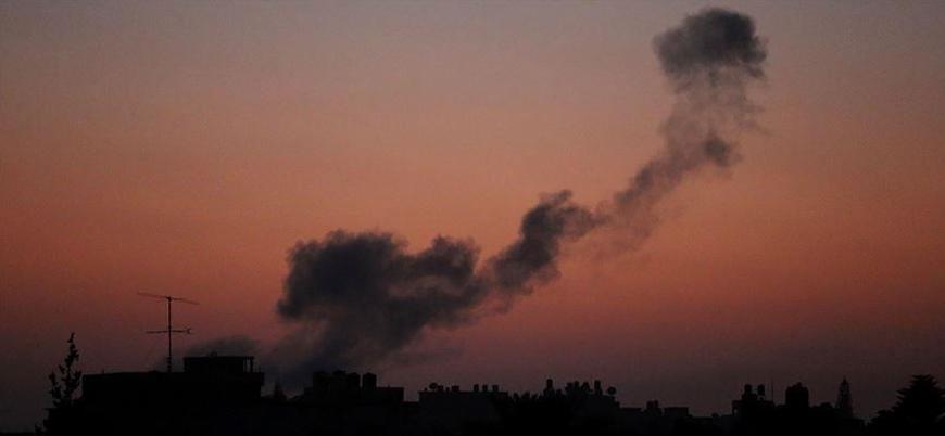 İsrail Suriye'de İran'a bağlı güçleri vurdu