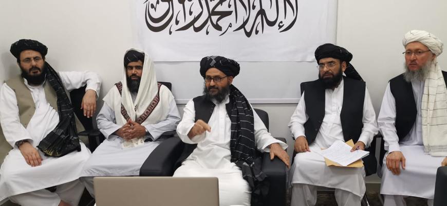 Taliban Siyasi Ofis Şefi Molla Birader ABD Dışişleri Bakanı Pompeo ile görüştü