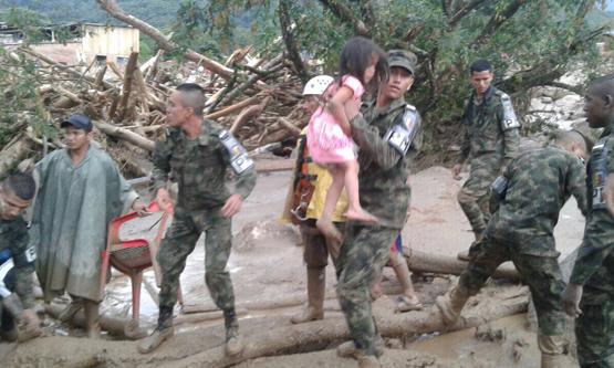 Kolombiya'da sel felaketi: 254 kişi yaşamını yitirdi