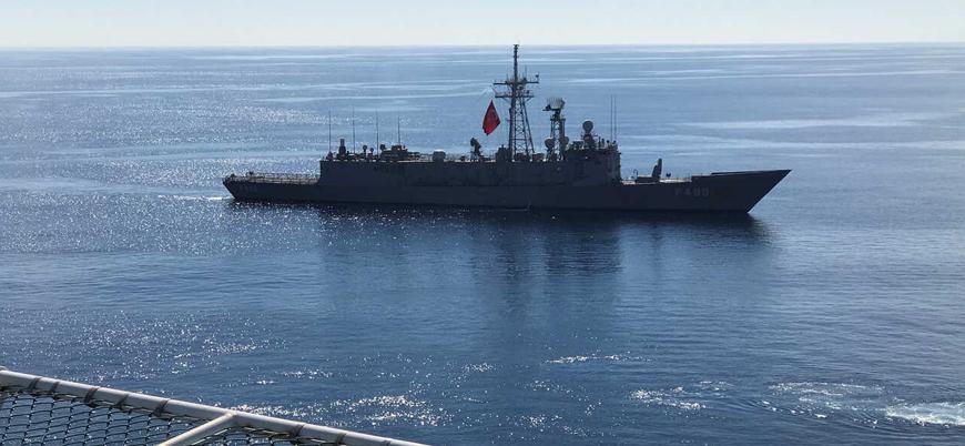 Türkiye'nin Akdeniz'de Fransız savaş gemilerini 'taciz ettiği' iddiası NATO gündeminde