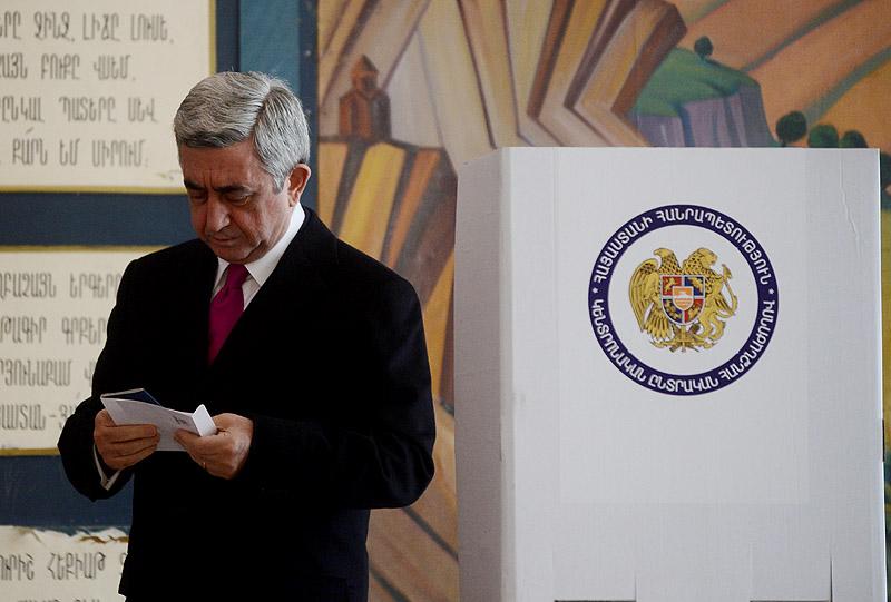 Ermenistan'da parlamento seçimleri yapılıyor
