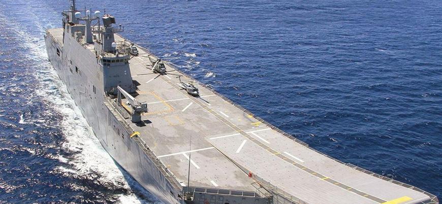 TCG ANADOLU liman testlerine başladı