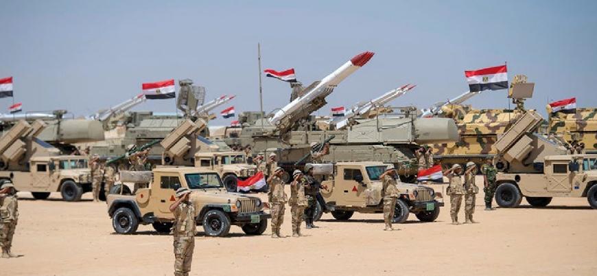 Mısır Libya'da etkinliğini artıran Türkiye'ye karşı ordusunu güçlendiriyor