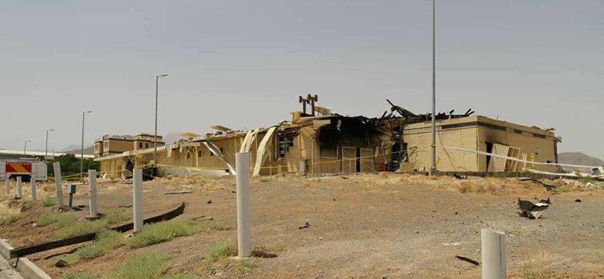 İran'ın yeraltı nükleer tesisinde yangın: Kaza mı saldırı mı?