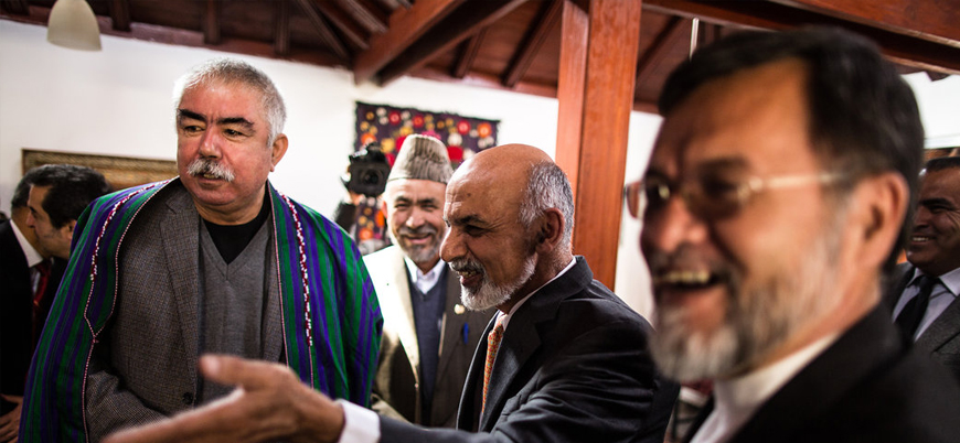 Afganistan'da savaş ağası Raşid Dostum'a resmen 'Mareşal' ünvanı verildi