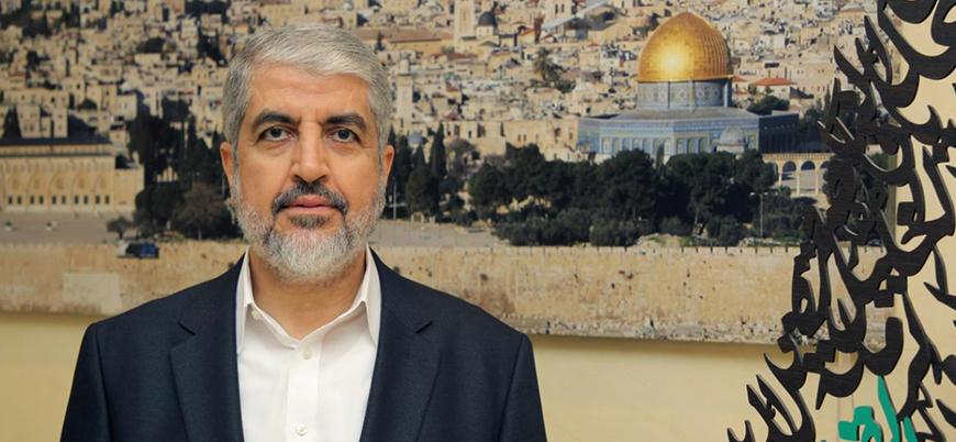 Halid Meşal: İlhakın ertelenmesi İsrail'in bir oyunu