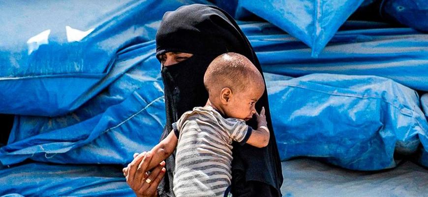 El Hol Kampı'nda binlerce kadın ve çocuk yaşam mücadelesi veriyor