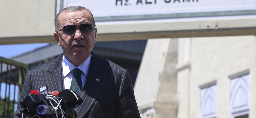 Erdoğan'dan Ayasofya çıkışı: Kimse bizim ibadethanemize karışamaz