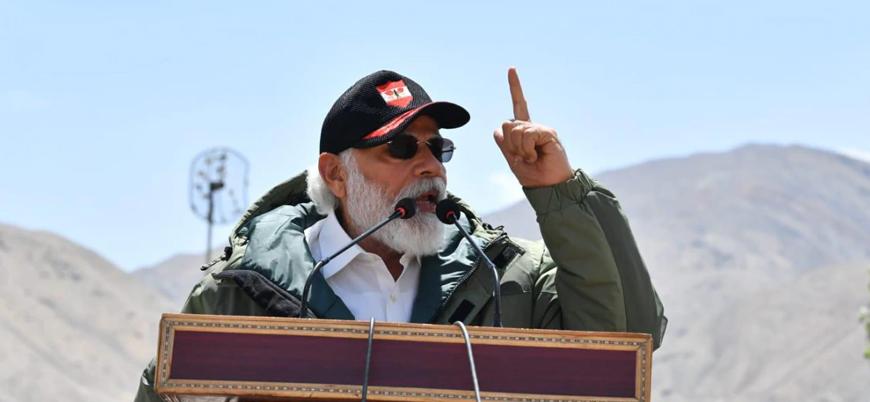 Hindistan Başbakanı Modi'den Çin'e: Yayılmacı politika dönemi sona erdi